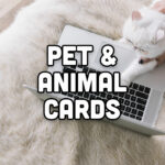 Pet and animal cards